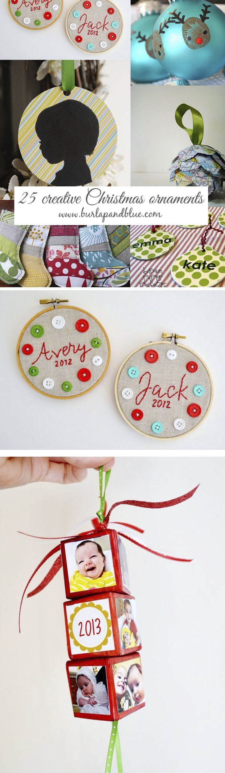 811 best Christmas Crafts, DIY and Home Decor images on Pinterest ...