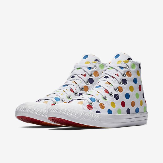 67b282ecfdac Converse Pride x Miley Cyrus Chuck Taylor All Star High Top Unisex Shoe