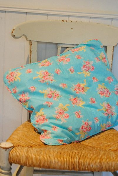 almohadon flores