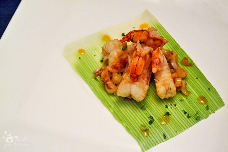 Gamberi Thai al lemongrass #ricetta di @ariannaluraschi