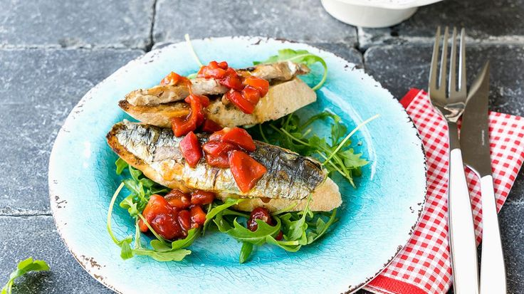 Sardines met paprika en ciabatta | VTM Koken