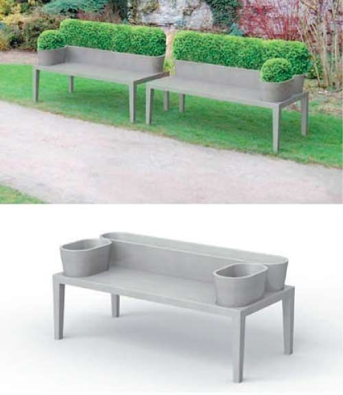 Gardening Bench This Ismy Favourite Piece Of Garden Furniture This Year.  Made From Polished Concrete