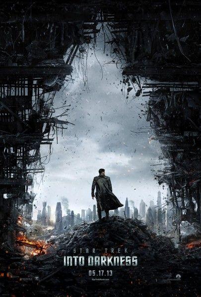 Primer y genial póster para 'Star Trek Into Darkness' dirigida por J.J. Abrams. Estreno España el 5 de Julio de 2013