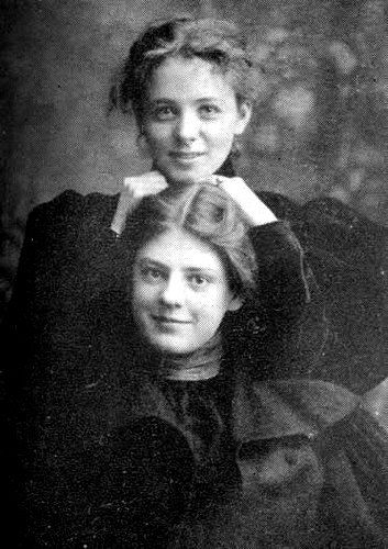 Maude Adams and Ethel Barrymore
