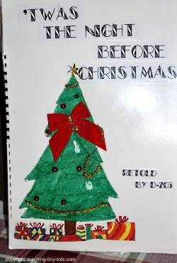 Retell Twas the Night Before Christmas Project from Teaching Tiny Tots