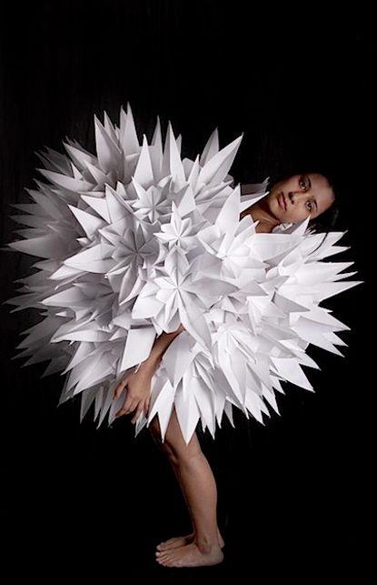Mauricio VelasquezAbstract Art, Paper Dresses, Flower Dresses, Fashion Art, Paper Art, Dresses Design, Origami Flower, Origami Dresses, Origami Fashion