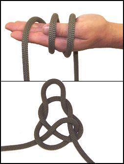 At least 25 different knots. Learn to tie knots