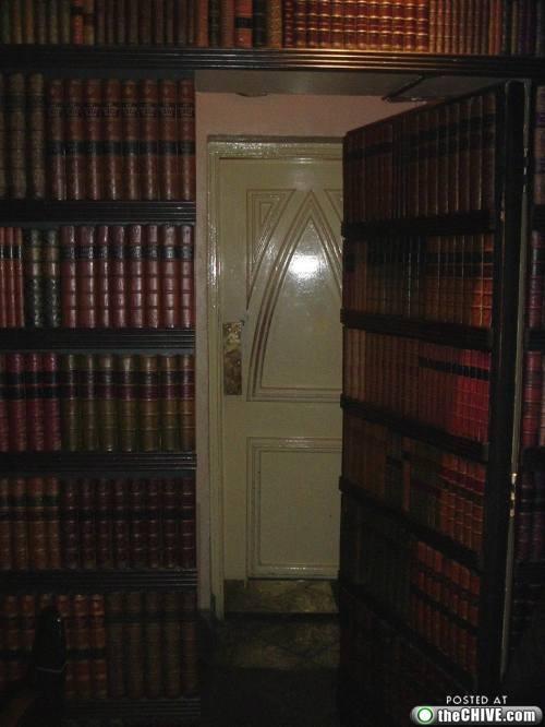 Secret passageways and hidden doors are cooler than normal doors just sayin.. (20 photos) & 93 best Secret Bookcase Door images on Pinterest   Home Hidden ... Pezcame.Com