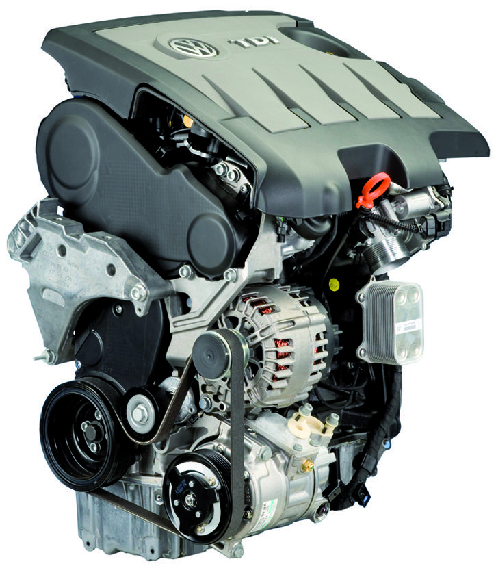A VW TDI engine
