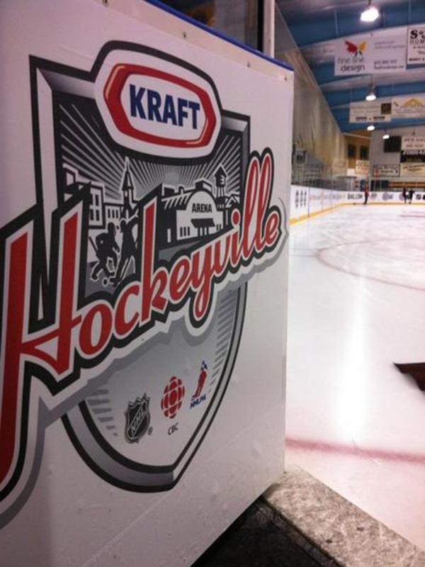 Kraft Hockeyville celebrations underway in Stirling-Rawdon, the 2012 winner!