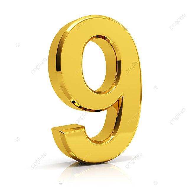 Gold Number 9 9 Number Number 9 Png Transparent Clipart Image And Psd File For Free Download Gold Number Prints For Sale Gold Pattern