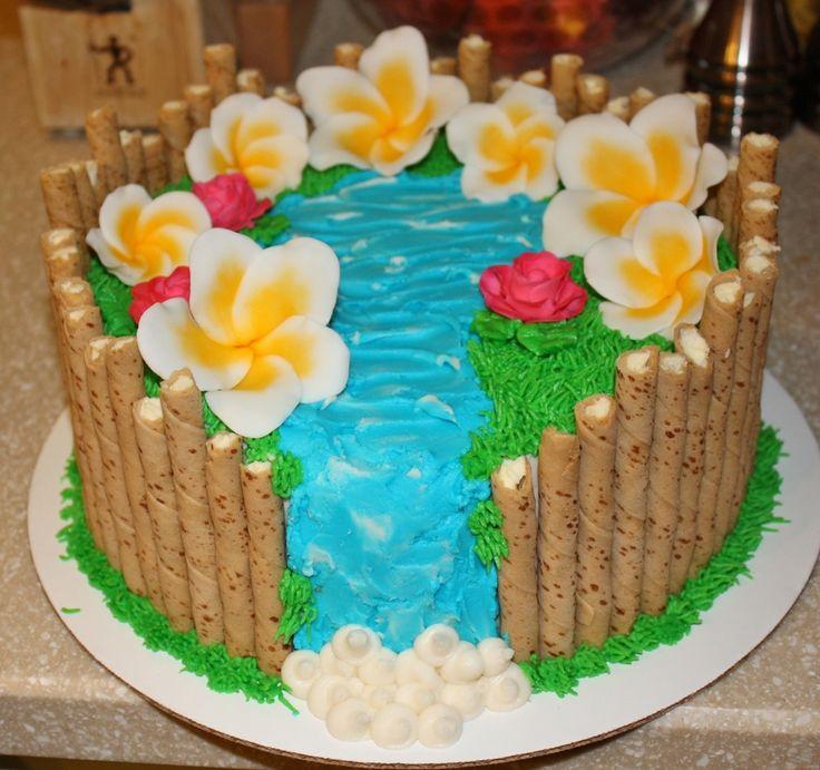 Hawaii/luau Theme  on Cake Central