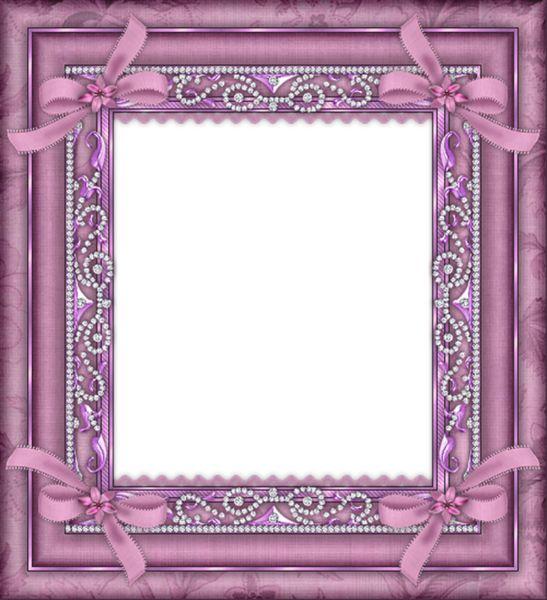 Pink Transparent Frame