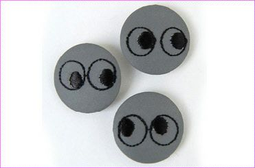 Pins reflectantes