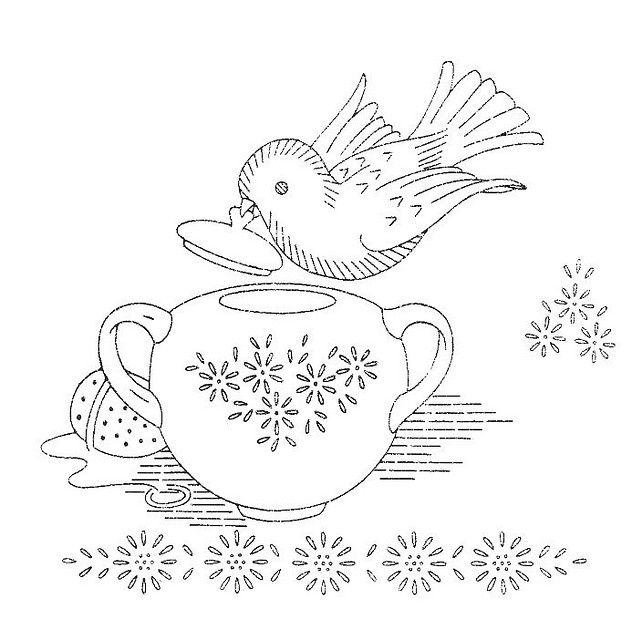 embroidery patterns vintage | Vintage embroidery patterns