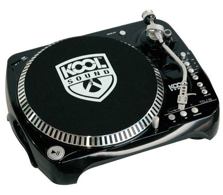 /** Priceshoppers.fr **/ Kool Sound TDJ-26 - Platine vinyle dj avec USB / SD / RCA