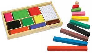 Las regletas de cuisenaire, es un material con el que se pueden realizar numerosos razonamientos lógico- matemáticos, pero además los pueden colocar los niños por colores según la gama frío o cálido.