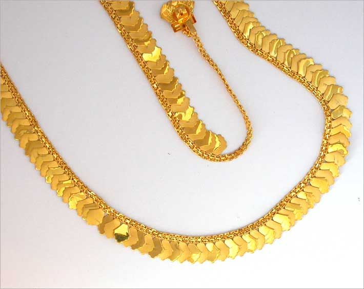 New Model Gold neckles.