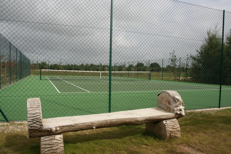 Tennis court available to hire or for private lessons with our coach