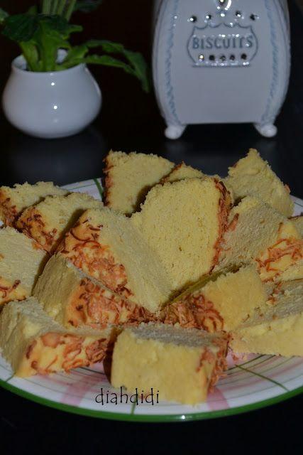 Diah Didi's Kitchen: Pencarian Cake Tape keju yang enakk............
