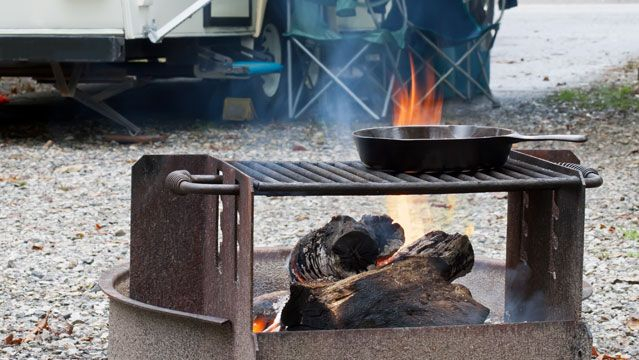 What's the best portable camping grill? Here is one person's opinion.