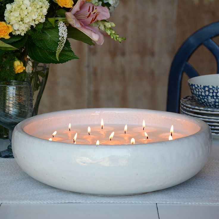 320 Best Pottery Candles Images On Pinterest Lights