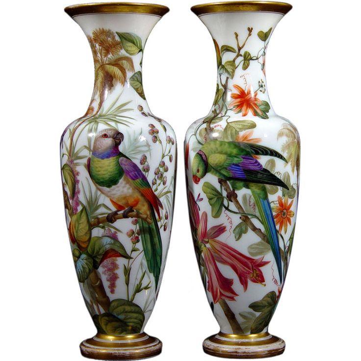 17 Best Images About Vases En Opaline On Pinterest