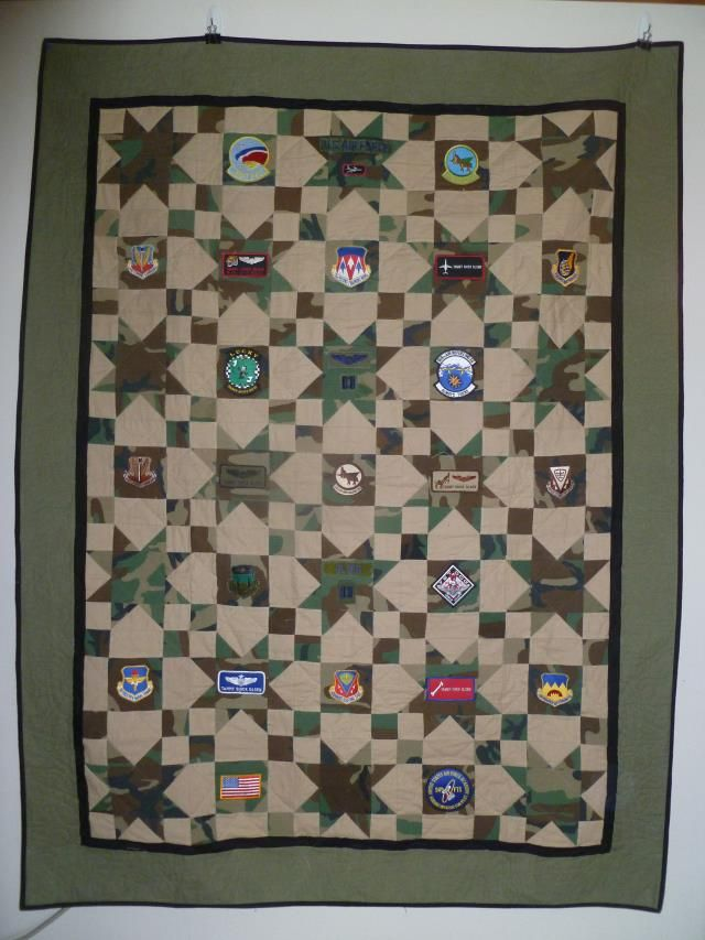 8 best Quilts - Military images on Pinterest | Quilt patterns ... : military quilts - Adamdwight.com