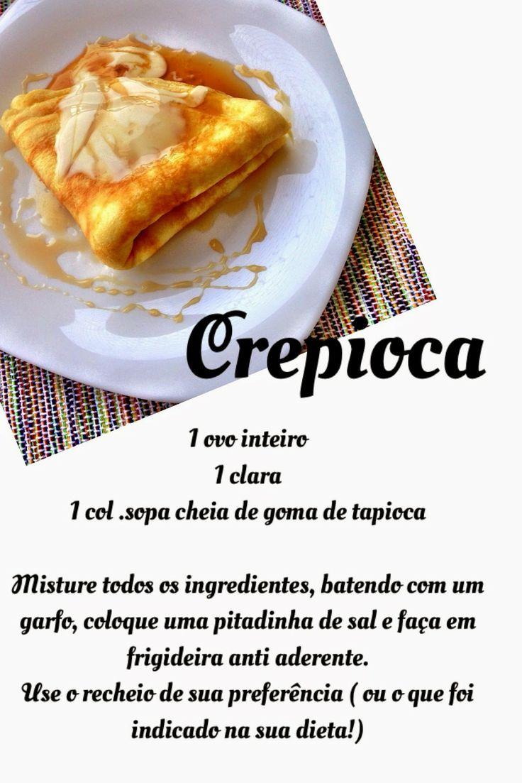 Crepioca, Gelos de Couve,Leite de Coco Caseiro, Balas de Gelatina
