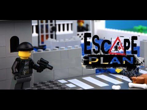 Lego Friends Film Escape plan - Lego Funny film for kids😀😁😁