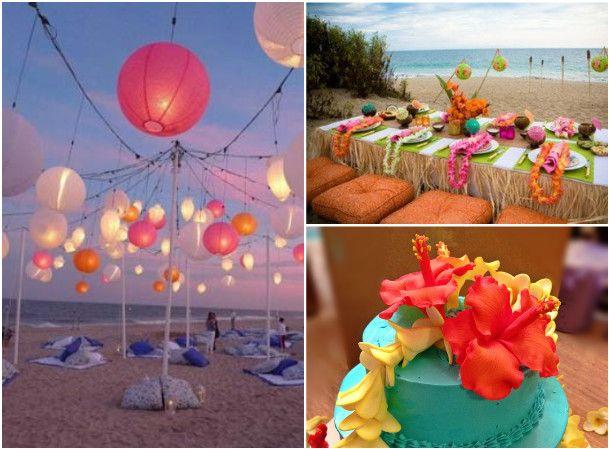 Decoracoes Para Festas 15 Anos: Festa-de-15-anos-luau:5 TEMAS DIFERENTES PARA FESTA DE 15