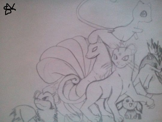 Some Of My Favorite Pokemon Ninetales Persian Growlithe Quilava Pichu