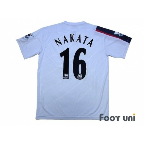 Bolton Wanderers 2005-2007 Home Shirt #16 Nakata BARCLAYS PREMIER LEAGUE Patch/Badge Reebok - Football Shirts,Soccer Jerseys,Vintage Classic Retro - Online Store From Footuni Japan