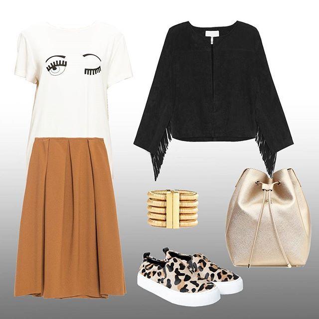 Bugün bir etekle iki farklı stil oluşturacağız.. ilk stilimiz daha günlük bir stil✌ Today we are doing two styles with same skirt.. First style is more casual.. ✌  Zara etek, @zara skirt *179,95tl Mango Ayakkabı, @mango shoes *179,99tl Modagram tshirt, @modagram shirt *39,99tl Mango Ceket, @mango jacket *339,99tl Balmain for H&M Bileklik, @balmainxhm bracelet *169tl Beymen Çanta, @beymen Bag *495tl