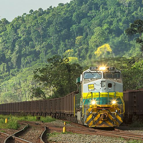 Brazil - Vale operates the Carajás Railway, which extends for 892 km, connecting Parauapebas in Pará to the Port of Ponta da Madeira in São Luís, the capital of neighbouring state Maranhão