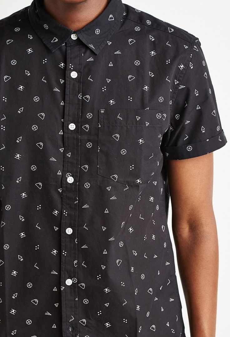 Geo Abstract Print Shirt | 21 MEN - 2000154473
