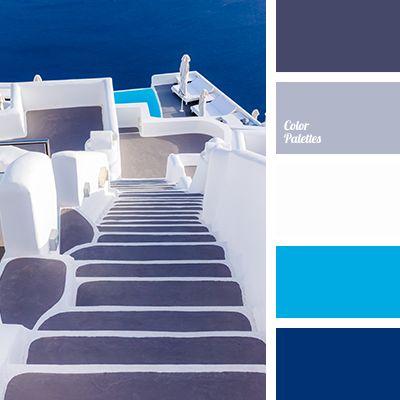 color palette grijs wit blauw