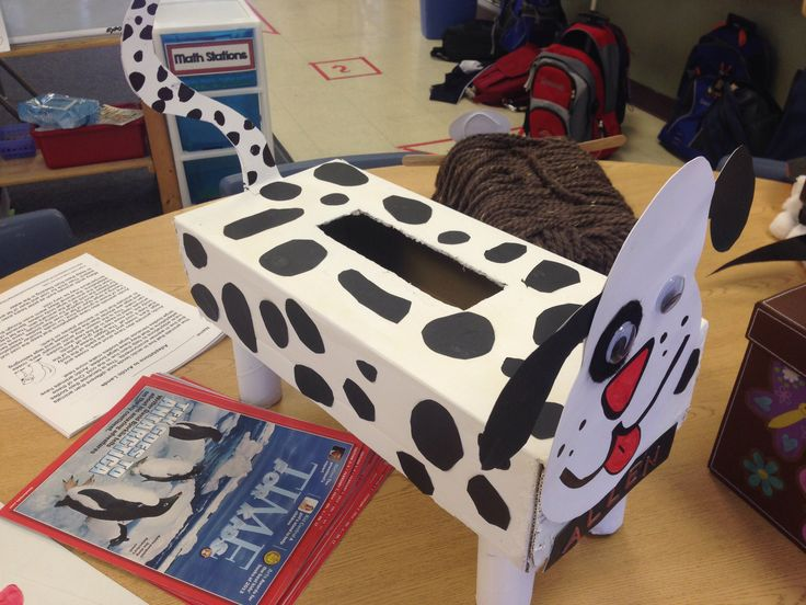 3rd grade dog valentine box animal classification project for Crafts for 3rd graders