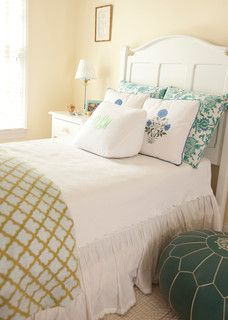 Benjamin Moore Palm Coast Pale Bedroom By Lyall Interiors