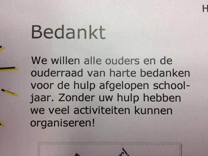 Thanks, but no thanks...  - Taalvoutjes