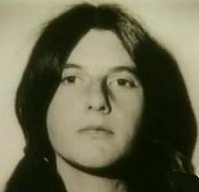 Patricia Krenwinkel after her arrest in 1969