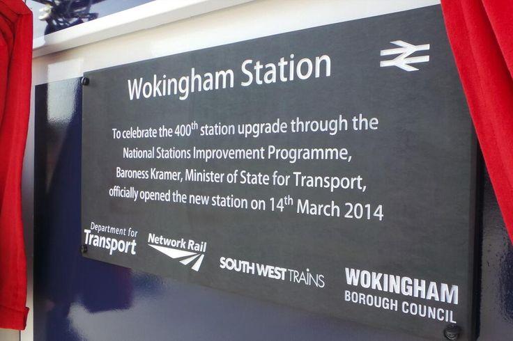Wokingham Station upgrade.