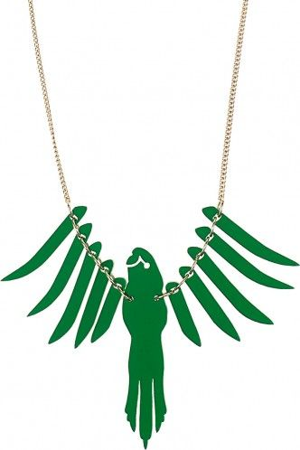 Tatty Devine Parakeet Necklace
