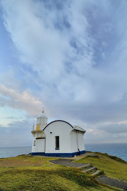 Tacking Point Lighthouse is Australia's third oldest lighthouse ~ by rsusanto, via Flickr