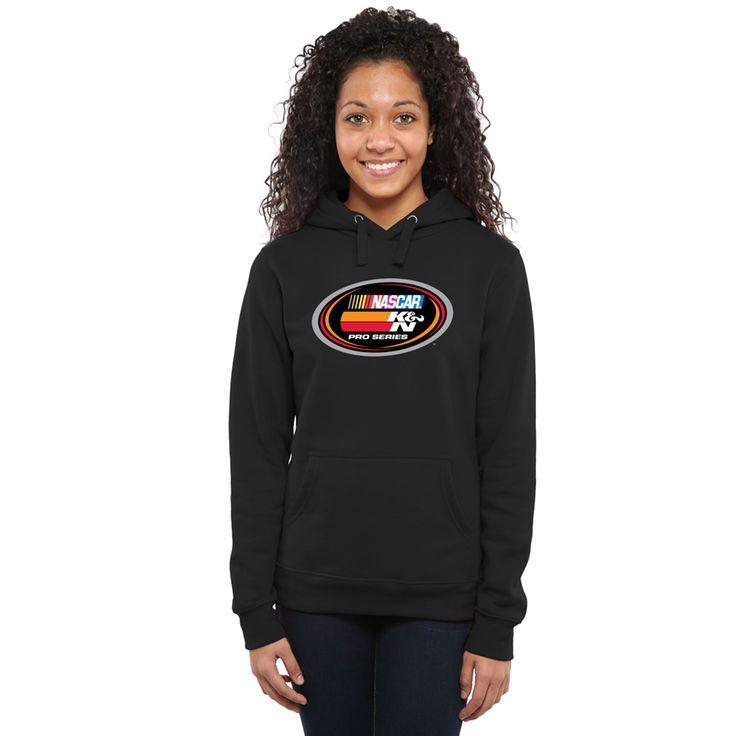 NASCAR Merchandise Women's NASCAR K&N Pro Series Logo Pullover Hoodie - Black - $49.99
