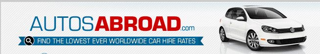 Look for on-line booking of international cars and vans for hire at Autosabroad for travelling in France. They offer a huge range of cars and vans, including economy cars, luxury cars, SUV, compact cars, exotic cars, vans and minivans at reasonable cost. Visit: http://www.autosabroad.com/locations?France