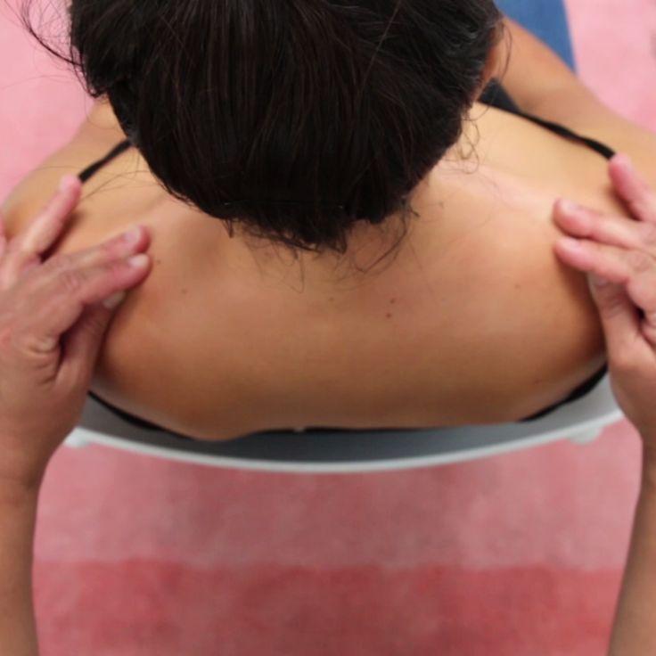 Easy Neck And Shoulder Partner Massage