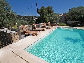 Villa+for+12-14+people,+quiet,+private+pool+and+sea+view+++Holiday Rental in Haute Corse from @HomeAwayUK #holiday #rental #travel #homeaway