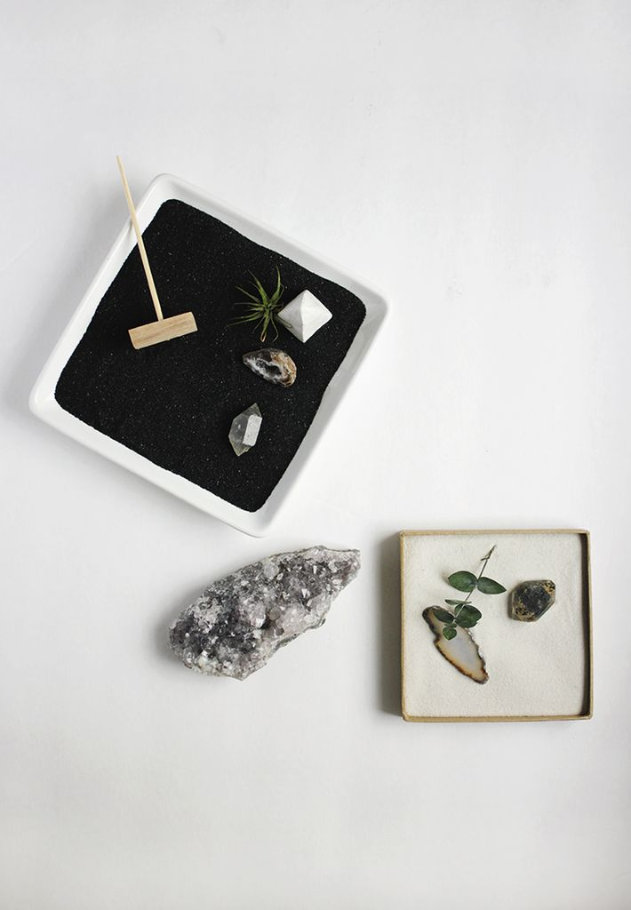 diy un mini jardin zen