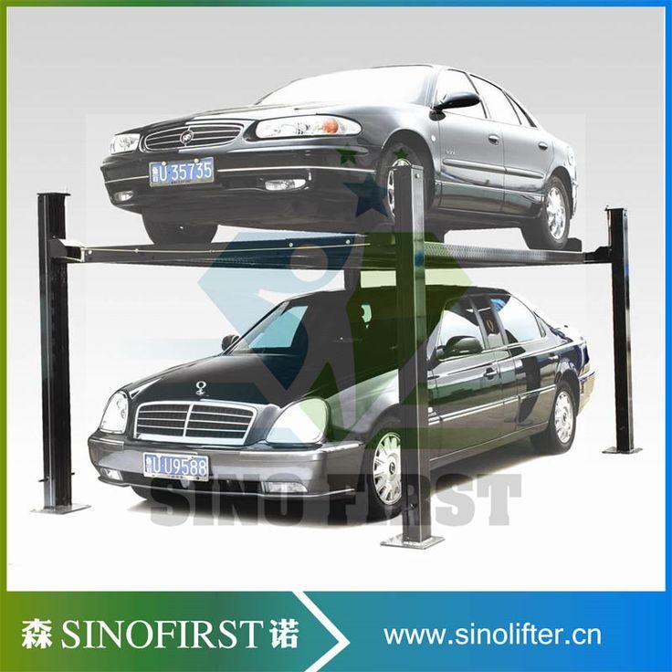 Four Post Double Cars Garage Auto Lifts 4 Post Lift #Affiliate